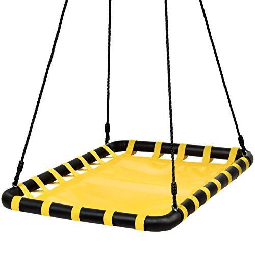 Giant Heavy-Duty Mat Platform Swing Multiple Kids Playground