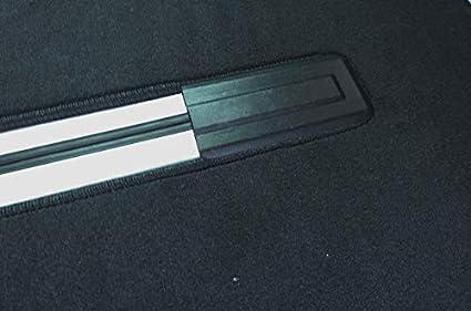 Autix 300056810569 Gastraum Und Kofferraum Teppich Fußmatte Schwarz Velour Passend Für Vw T6 Multivan Mit 1 Schiebtür Auto