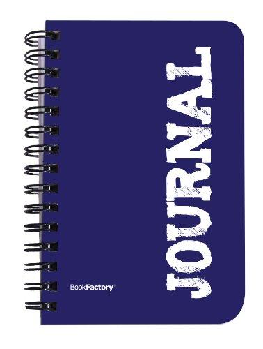 BookFactory Mini Journal Notebook/Pocket Journal/Journal Diary/Journal Book 120 Pages - 3 1/2