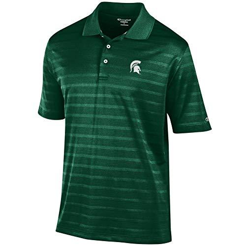 Elite Fan Shop Michigan State Spartans Polo Shirt Green - M