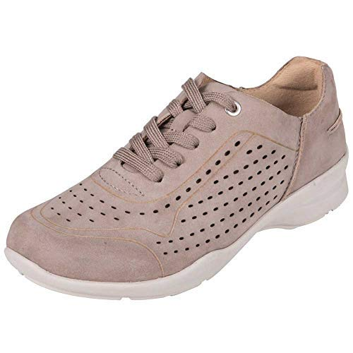 Earth Womens Serval Taupe Sneaker - 9.5 (Earth Womens Dharma Clog)