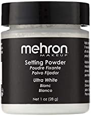 Mehron Ultrafine Setting Powder with Anti-Perspriant - Ultra White
