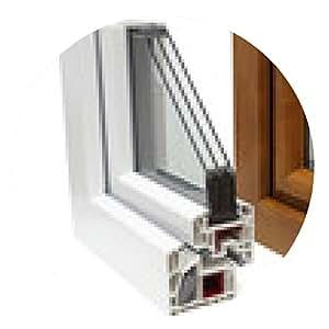 alfombrilla de ratón perfiles de ventanas de plástico - ronda - 20cm