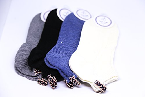 4 Pair Quality Women Socks | Cotton | Sports and Casual | All Season | Fashion, Hipster, Preppy, - Preppy Hipster Style
