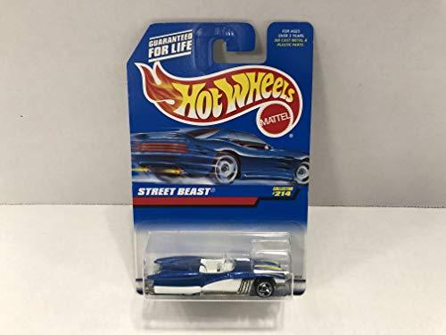(STREET BEASTS Hot Wheels 1998 Mattel 1/64 diecast car No. 214)