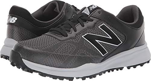 Breeze Mens Shoes - New Balance Men's Breeze Breathable Spikeless Comfort Golf Shoe, Black/Grey, 11 2E 2E US