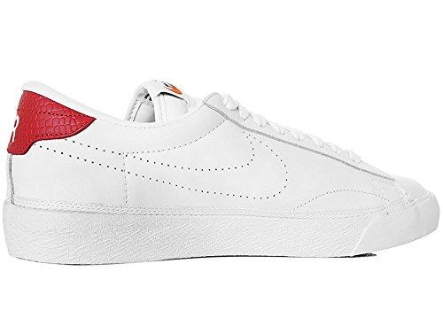 Nike , Herren Sneaker Bianco, Rosso