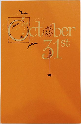 October 31st - Thinking of You on Halloween Greeting Card