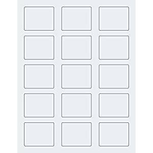 2 125 x 1 6875 label template - 75 rectangle clear labels for 10 ml roll on