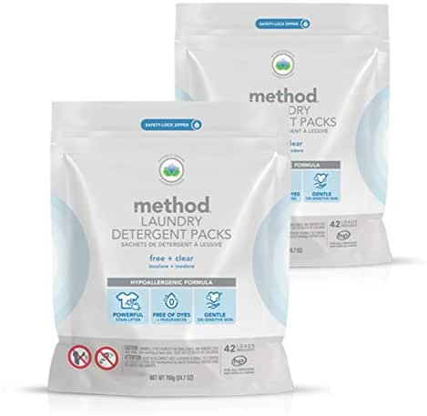 Laundry Detergent: Method Free & Clear