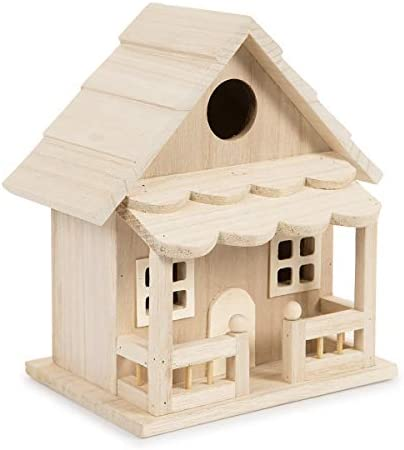 Darice 30024507 Birdhouse Front Porch product image