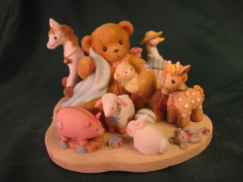 Cherished Teddies.......... Breanna... Nothing Makes Life More Special Than Being Sorrunded By Friends