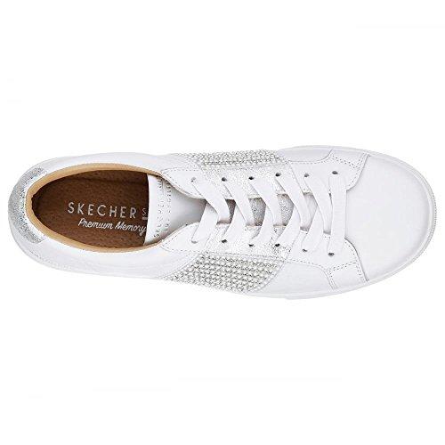 Skechers Sneaker Bianco Donna Skechers White Sneaker gqHd8x8