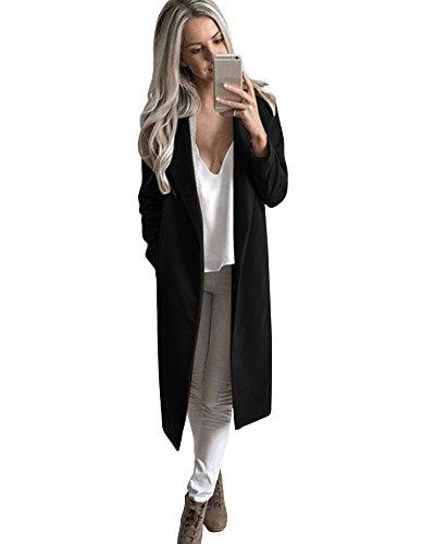 Wool Blend Long Coat - 2