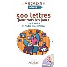 500 Lettres Pr.. Jours + Cd-Rom