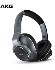 AKG N700NC Over-Ear Foldable Wireless Headphones, Active Noise Cancelling Headphones, Silver (US Version)