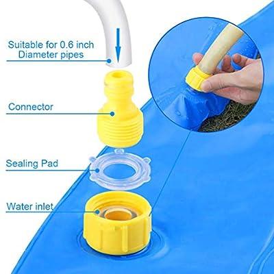 ZHISHIB Sprinkler for Kids, Splash Pad, 68