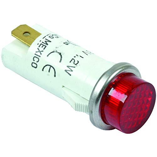 Light Indicator, Red, 28V