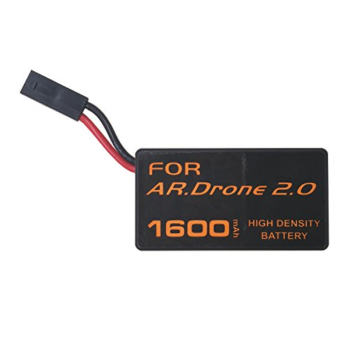 Wee Powerful Rechargeable Battery Replacement for Parrot AR.Drone 2.0 Quadcopter 2000mAh 11.1V