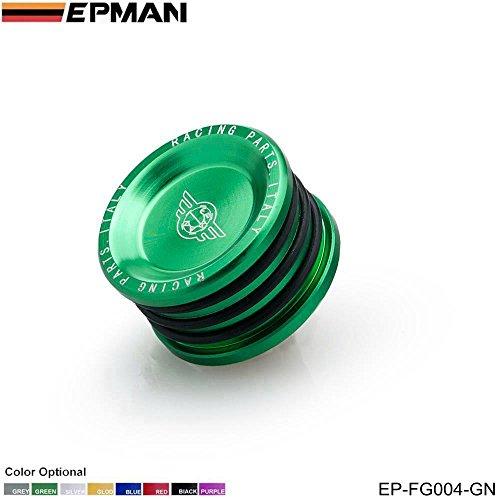 EPMAN Engine Billet Cam Plug Seal For Honda Civic / Prelude / Acura Integra B16 B18 B20 H22 H23 (Green) (Billet Cam Plug)