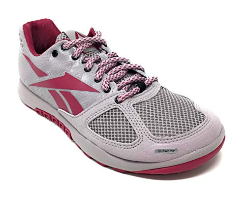 Reebok Womens Crossfit Nano 2.0 Training Shoe, Lavender Luck/Twisted Berry, 8.5 M US
