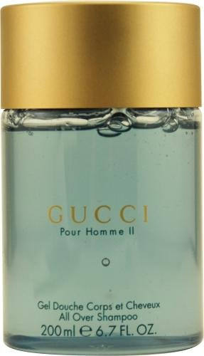 Amazon.com   Gucci Pour Homme Ii by Gucci for Men. All Over Shampoo  6.8-Ounces   Hair Shampoos   Beauty 91604376933