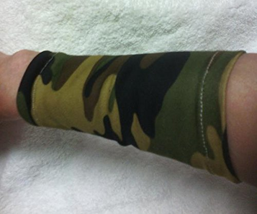 Camouflage Stretch fabric Wristband Wrist Bracelet Cuff Tattoo Cover Up from Craft and Sewing Box