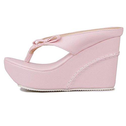 Sandali Pink Nuova Stagione Spessi La Estate Ed Pantofole Impermeabili Primavera ZHXUANXUAN per di Wx7vaFB