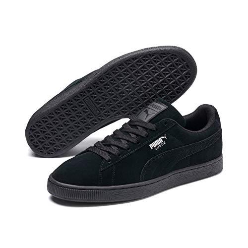 Puma Unisex Shadow Classic black Adulto Suede Negro Zapatillas dark rtrzA1q8