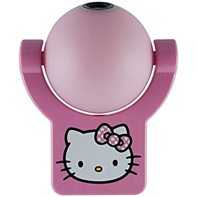 Hello Kitty Projectables LED Plug-In Night Light, 33738, Image Projects Onto Wall or Ceiling