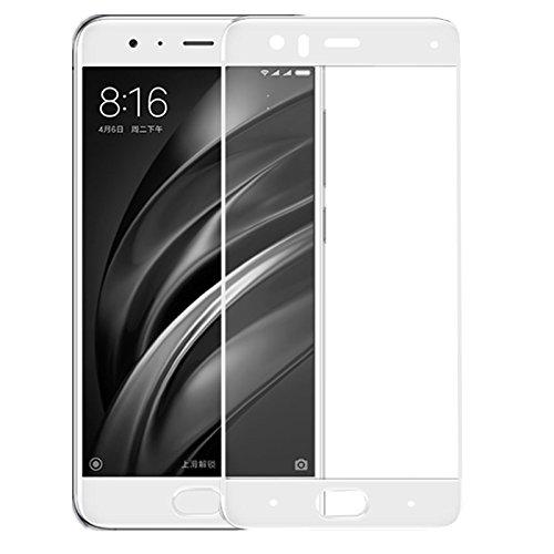 OFU? Xiaomi Mi6 (5.1') Cristal Templado,Protector de Pantalla Cristal Templado para Xiaomi Mi6 (5.1'), Grosor 0,3mm,Alta Resistencia a Golpes 9H. (Dorado)-2 Piece Protector de Pantalla Cristal Templado para Xiaomi Mi6 (5.1) OEM