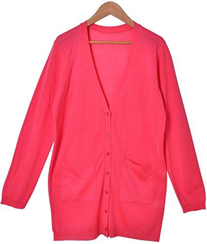 (カービーズ) curvy's ロングカーディガン カーディガン ロング ロングカーデ カーデ トップス Vネック 長袖 七分袖 薄手 サマー 紫外線対策 UV対策 レディース