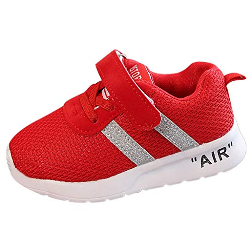 (〓COOlCCI〓Kids Lightweight Breathable Sneakers Easy Walk Casual Sport Shoes for Boys Girls Tennis Shoes Running Sneakers)
