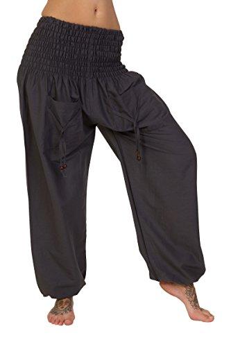 ThaiUK - Pantalón - para mujer gris