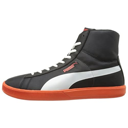 Puma ARCHIVE LITE MID SUEDE Grey Suede Leather Men Sneakers Shoes