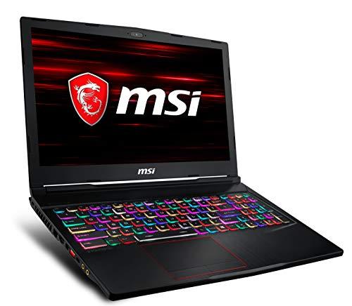 "MSI GE63 Raider RGB-1050 15.6"" 144Hz 3ms Gaming Laptop Intel Core i7-9750H RTX2060 32GB DDR4 512GB NVMe SSD +1TB Win10 VR Ready"
