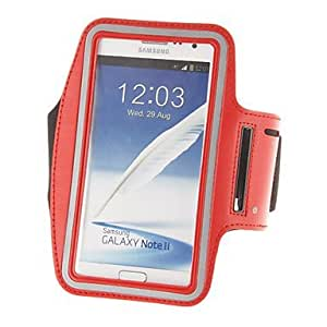 CeeMart Outdoor Sports Gym Armband Protective Case for Samsung Galaxy Note2 N7100 White by ruishername