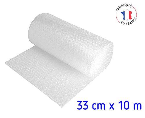 Pellicola Carta bolla di protezione Rotolo di 10 metres x 33 cm Mottez