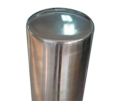 Vestil BOL-SS-42-4.5 Stainless Steel Pipe Safety Bollard, 4-1/2'' OD, 42'' Height by Vestil (Image #3)