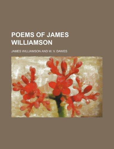 Poems of James Williamson