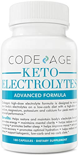 Keto Electrolyte Capsules Supplement Rehydration