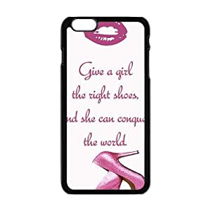 Pink high-heeled shoes Cell Phone Case for iPhone plus 6