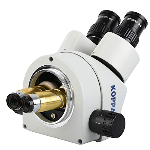 KOPPACE KP-0.5X Stereo Microscope Assisted Objective Lens 48mm Working Distance to165mm 0.5X Microscope Lens.