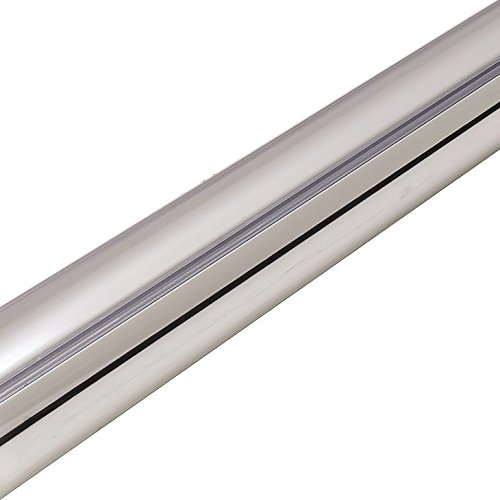 Hafele Closet Rod w/LED 2037 Complete Kit by, polished chrome (36'') by Hafele