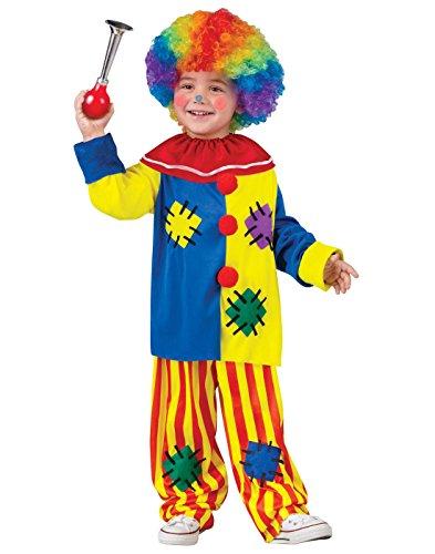 Big Top Circus Costume (Fun World Costumes Baby Girl's Big Top Clown Toddler Costume, Yellow, Large)