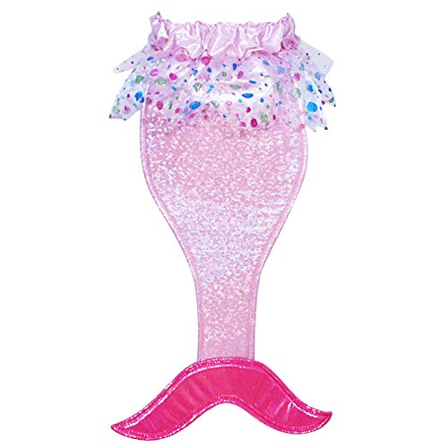Pink Poppy Mermaid Tail with Sound- Hot Pink]()