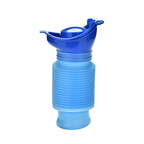 Emergency Urinal,Portable Mini Outdoor Camping Travel Shrinkable Personal Mobile Toilet Potty Pee Bottle for Kids Adult (750 ML) (Portable Boat Seats)