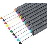 Fineliner Color Pen Set, Taotree 0.38mm Colored...