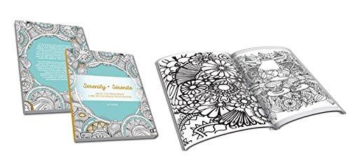Price comparison product image MANDALAS COLORING BOOK SERENITY ADULT SERIES 64 DESIGNS