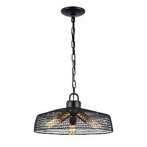 Zeev iluminación urbana oscuro bronce - Lámpara de techo ...